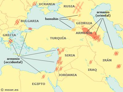 armenio, hemshin