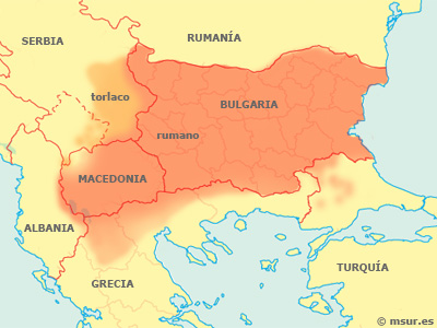 búlgaro, idioma eslavo