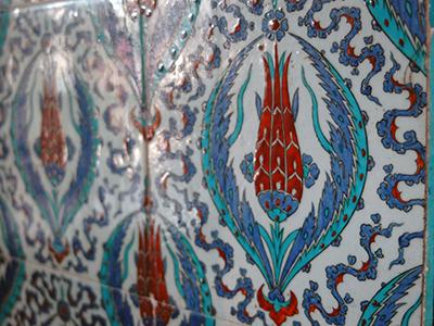 Azulejos en una mezquita otomana de Estambul |  © I. U. T. / M'Sur