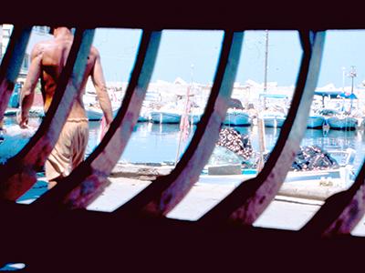 Astillero en Tiro, Líbano (1999) |  © Ilya U. Topper /M'Sur