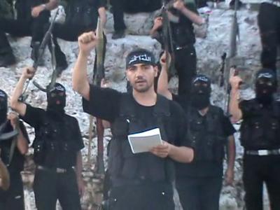 Brigada Ansar Sham, Monte Kurdo, Siria, Jun 2012 | Ansar Sham