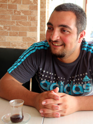 Firas Birro, rebelde sirio. Antakya, Jul 2012 |  Ilya U. Topper/M'Sur