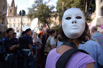 Protesta feminista contra Berlusconi, en 2010 / Irene Savio