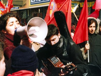 Manifestación izquierdista en Estambul, Mar 2005 | © Ilya U. Topper/M'Sur