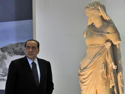 Silvio Berlusconi (en el G8; 2009) | G. Boulougouris/ © Comisión Europea