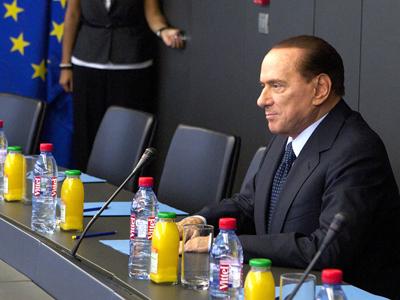 Silvio Berlusconi  (Estrasburgo, 2011) |  Jean-François Badias, Comisión Europea