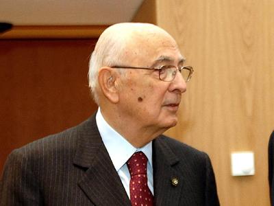 Giorgio Napolitano | Paolo Poce/ © Comisión Europea