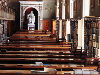 Biblioteca del Vaticano; sala de consultas |  © Vaticano (cedida)