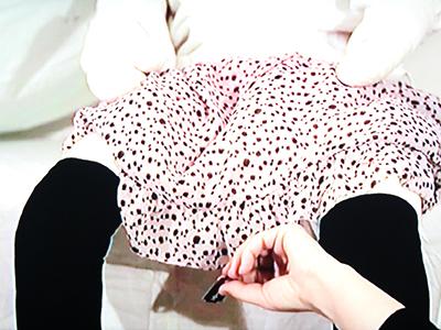 Representación de la ablación en un vídeo de la artista turca Şükran Moral |© I. U. T. /M'Sur