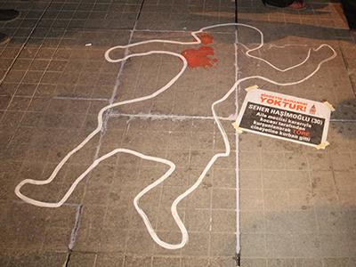 Protesta contra los asesinatos machistas (Estambul 2013)