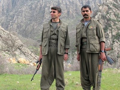 Guerrilleros del PKK en los Montes Qandil, Iraq (Marzo 2013)   © Karlos Zurutuza