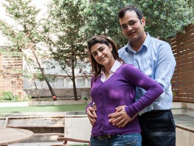 Kholoud Sukariye y Nidal Darwish, primera pareja libanesa casada por lo civil (2011) | ©  Natalia Sancha