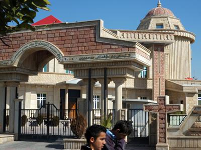 Iglesia asiria en Ankawa, Erbil, Kurdistán iraquí (2012)  | © Ilya U. Topper