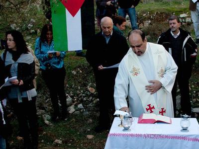 Misa de los salesianos de Cremisán, Palestina (2013) | © Carmen Rengel/M'Sur