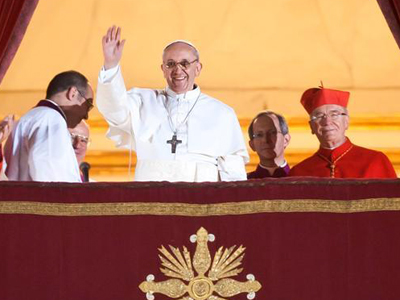 El papa Francisco I (Marzo 2013)  |  © Marcin Mazur/Intermirifica
