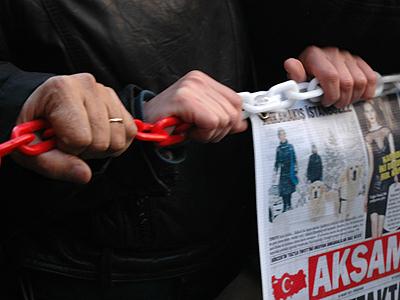 Protesta por la libertad de prensa en Estambul (2011) | © Ilya U. Topper /M'Sur