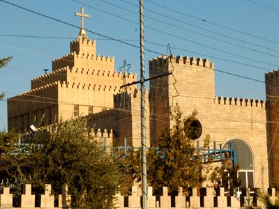 Iglesia caldea S. Jose de Ainkawa (Erbil, Kurdistán iraquí) | I. U. T./ M'Sur