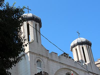 Iglesia siriaco-católica en Estambul (2013) |  © I. U. T. / M'Sur