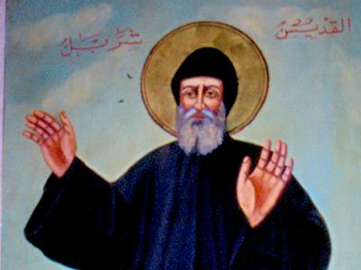 Imagen del santo maronita San Charbel en Tiro (Líbano) | I. U. T./ M'Sur