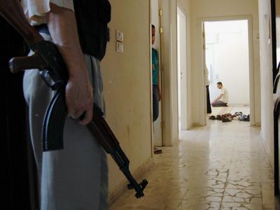 Tribunal islámico en Alepo (Jul 2013) | © Laura J. Varo