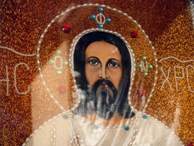 Representación de Jesucristo en el convento de Maalula, Siria | I. U. T./M'Sur
