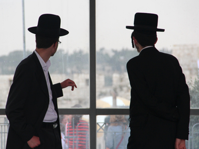 Haredíes en Jerusalén (2013) | © Ilya U. Topper