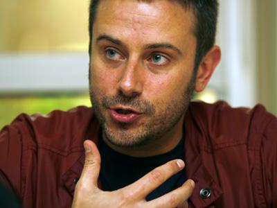 Jeremy Scahill (Madrid, 2008)  |  ©  José Luis de la Cuesta
