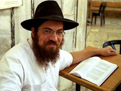 Rabino en Hebrón (2001) | © I. U. T. / M'Sur