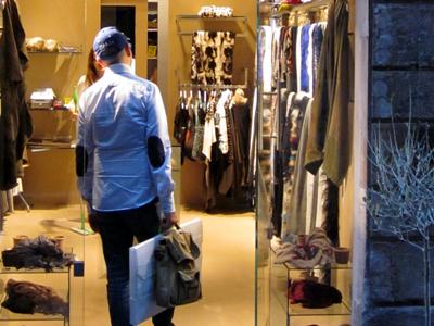 Tienda de ropa en Roma | © Darío Menor