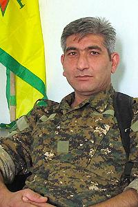 Redur Khalil, portavoz de las milicias kurdas YPG | © Karlos Zurutuza