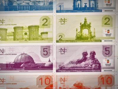 Napos,la moneda de la crisis en Nápoles |  ©  Irene Savio