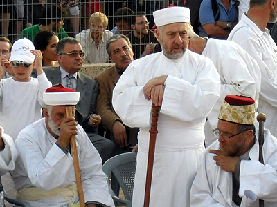 Patriarcas samaritanos en Gerizim, Palestina (2012) |  © Tirso Diego de Somonte