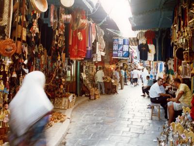 Bazar de la capital tunecina | © Daniel Iriarte