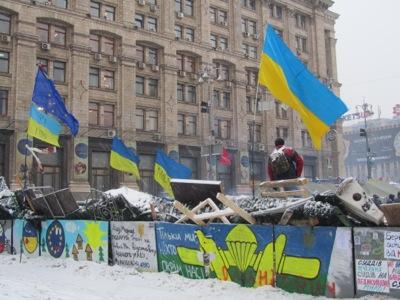 Barricada en Kiev (Diciembre 2013)  | © Daniel Iriarte