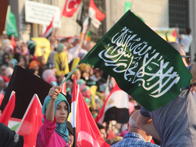 Manifestación islamista en Estambul, 2013 | ©  Ilya U. Topper /M'Sur