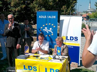 Mitin del Partido Liberal Demócrata de Bosnia-Hercegovina | © Liberalno Demokratska Stranka