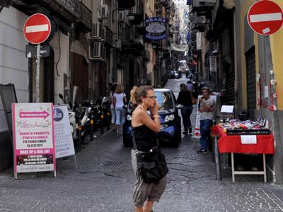 Calle Roma en Nápoles | © Irene Savio