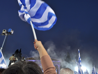Mitin de Nueva Democracia en Atenas (Mayo 2012) |  © Irene Savio