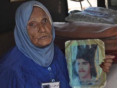 Madre de un joven desaparecido en Líbano (2012) | © Irene Savio