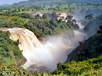 Cataratas del Nilo en Tis Abbay, Etiopía (2006) © Ilya U. Topper