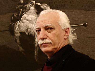 Youssef Abdelke (Beirut, 2013)   © Ethel Bonet