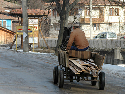 Campesino en Koprivshtitsa, Bulgaria (2006) |  ©  Daniel Iriarte