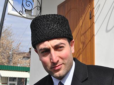 Abduraman Egiz, delegado de Exteriores de la comunidad tártara de Crimea (Mar 2014) | © Irene Savio