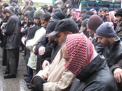 Protesta del Frente de la Acción Islámica, rama jordana de los Hermanos (2011) | © Daniel Iriarte / M'Sur