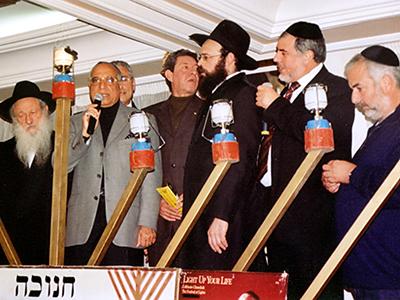 Judíos de Casablanca celebran la fiesta de janucá (2008) | © Ilya U. Topper