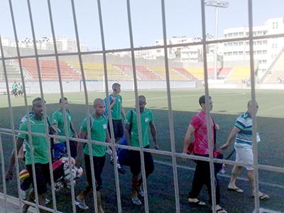 Entrenamiento de la selección palestina de fútbol (2014) | © Carmen Rengel