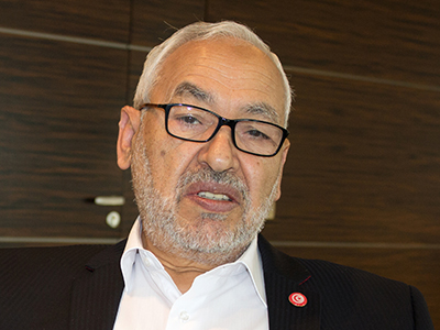 Rached Ghannouchi | © Lucía El Asri