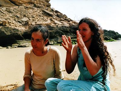Jóvenes bereberes en la costa atlántica marroquí (2008) | © Ilya U. Topper / M'Sur