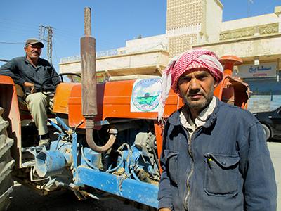 Recogida municipal de basura en Amuda, Kurdistán sirio (Oct 2014) | ©  K. Zurutuza