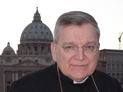 Raymond Leo Burke (Roma, Oct 2014) | © Darío Menor